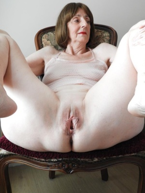 Spread granny pussy Hot Old